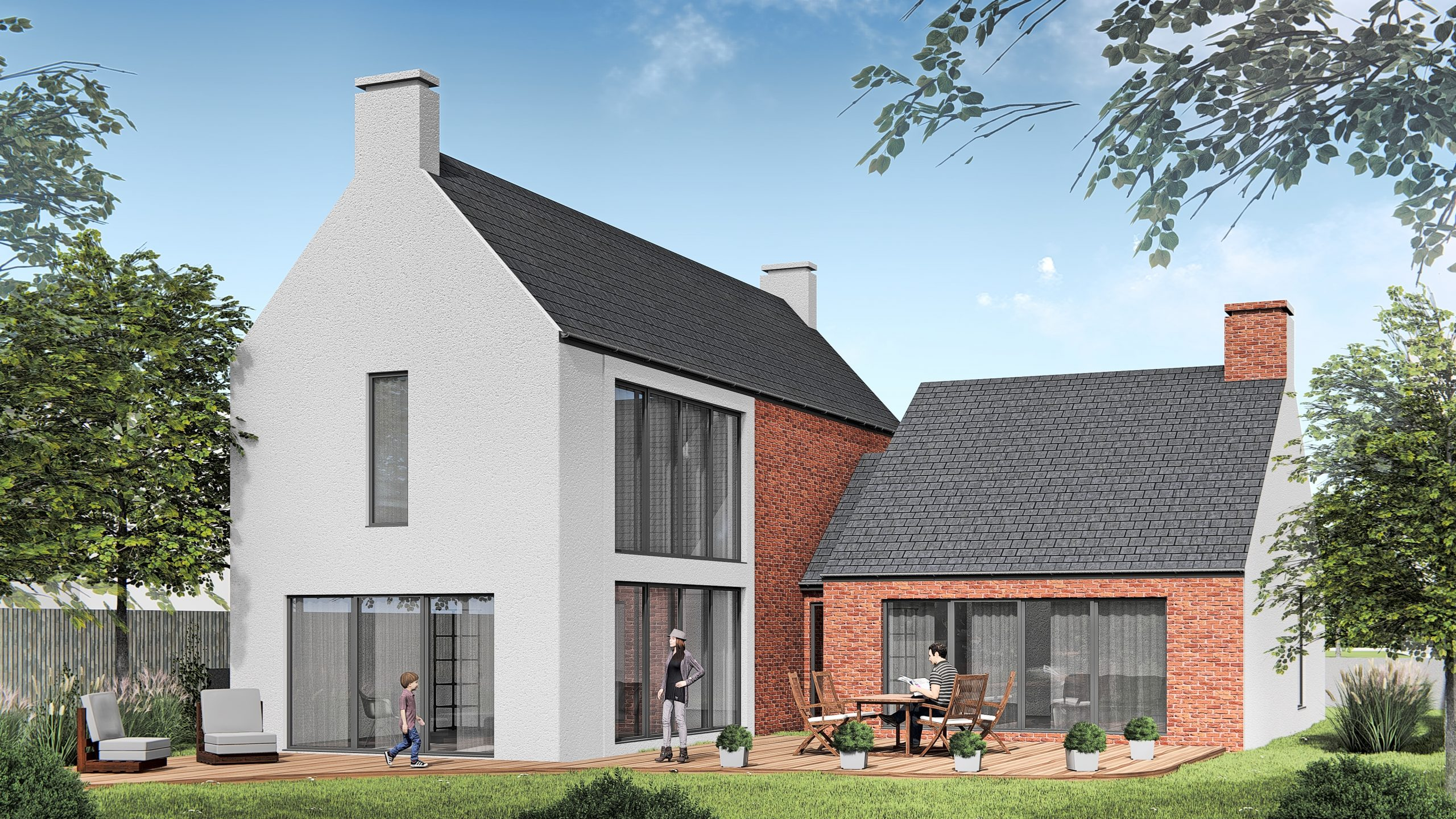 New build in Wall near Lichfield